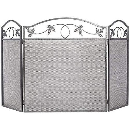 Amagabeli Indoor Fireplace Screen 3 Panel — Best Fireplace Screen