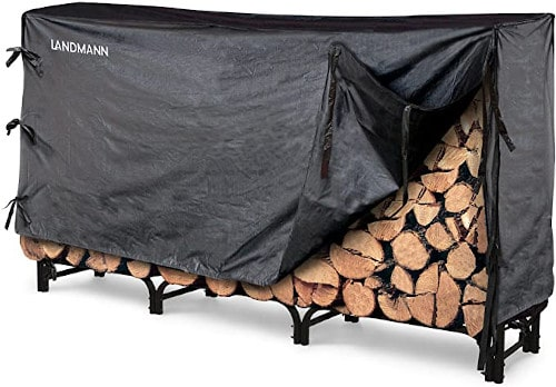 Landmann 82443 Firewood Rack with Cover - 8 Feet — Best Stable Rack