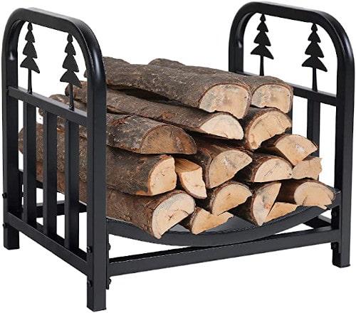 PHI VILLA Indoor/Outdoor Firewood Racks 18 Inches Small Log Rack review
