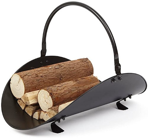 Rocky Mountain Goods Firewood Basket Holder — Budget Friendly