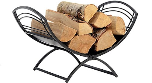 ShelterLogic Fireplace Classic Log Holder — Best Stationary Holder