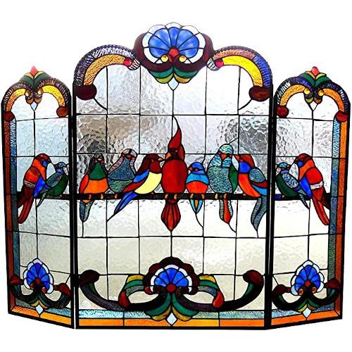 Chloe Lighting Glass Gathering Birds Design — Best For Nature Lovers
