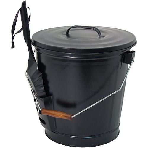 Panacea 15343 Ash Bucket with Shovel Black — Best For Design & User-Friendly