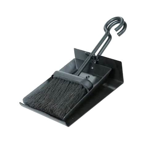 Uniflame Black Shovel and Brush Set with Pan — Best Accessories