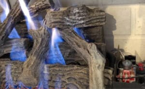 How to Adjust Gas Fireplace Flame Color