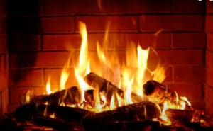 How Hot Does a Fireplace Get?