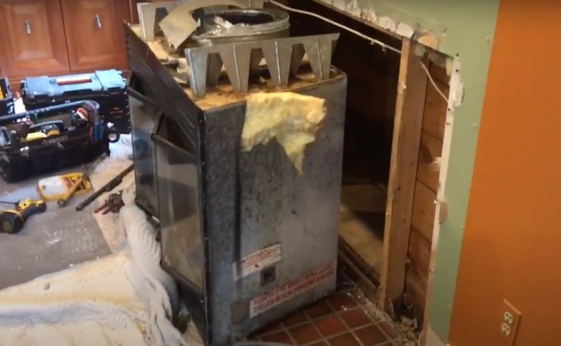 How to Remove a Fireplace Insert