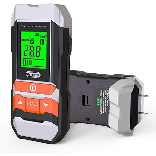 Dr.meter Backlit LCD Wood Moisture Meter, 2 in 1 Pin & Pinless for Wood review