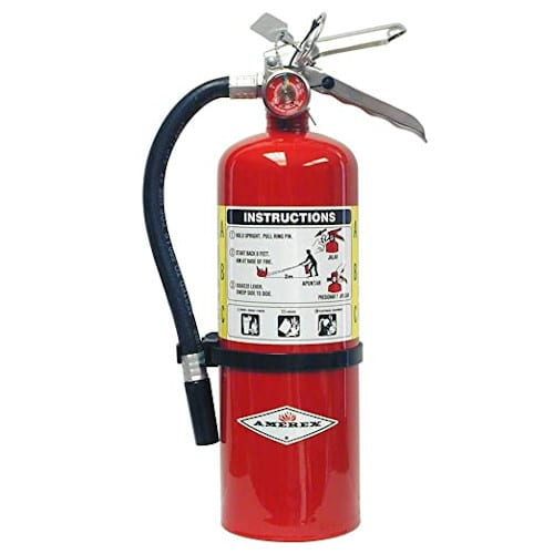 Amerex B402, 5lb ABC Dry Chemical Class A B C Fire Extinguisher, with Wall Bracket review