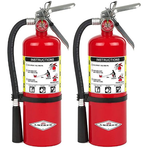 Amerex B500, 5lb ABC Dry Chemical Class A B C Fire Extinguisher (2) review