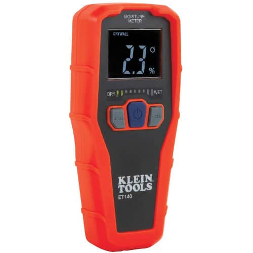 Klein Tools ET140 Pinless Moisture Meter for Non-Destructive Moisture Detection in Drywall, Wood, and Masonry review