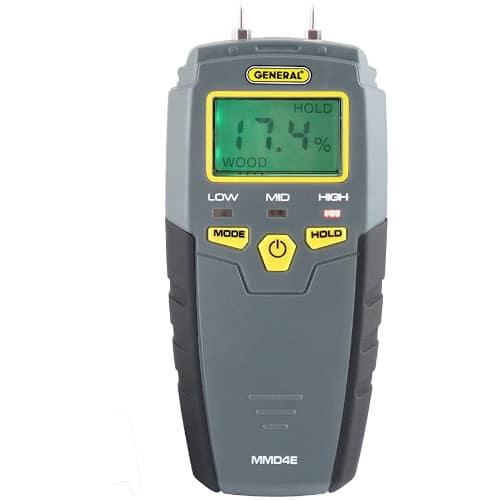 General Tools MMD4E Digital Moisture Meter, Water Leak Detector review