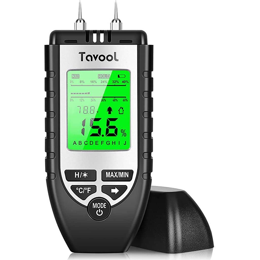 TAVOOL Wood Moisture Meter Digital Moisture Detector Moisture Tester review