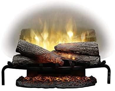 "DIMPLEX Revillusion 25"" Plug-In In Electric Fireplace Log Set Model: RLG25), 120V, 1500W, 12.5 Amps Black review"