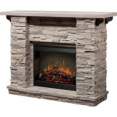 Dimplex Featherston Electric Fireplace Mantel Package - GDS26-1152LR — Best Overall