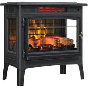 Duraflame 3D Infrared Electric Fireplace Stove with Remote Control - Portable Indoor Space Heater