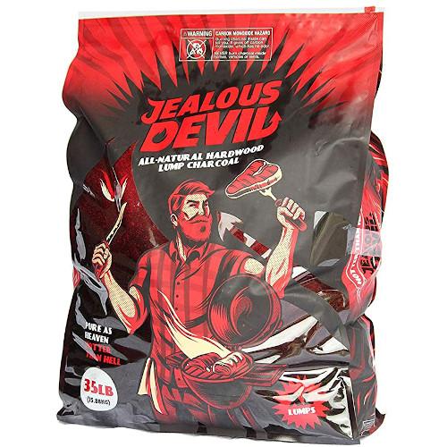 Jealous Devil All Natural Hardwood Lump Charcoal - 35LB review