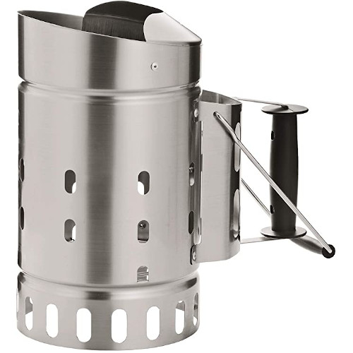 Rosle Stainless Steel Charcoal Silver Chimney Starter review