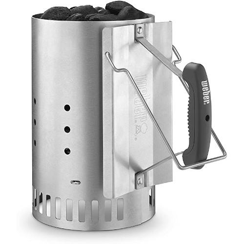 Weber 7429 Rapidfire Silver Chimney Starter