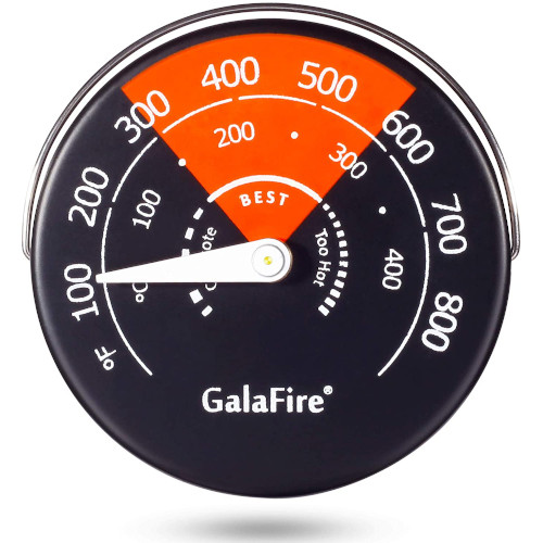 GALAFIRE Magnetic Stove Thermometer Oven Temperature Meter for Wood Burning Stoves review